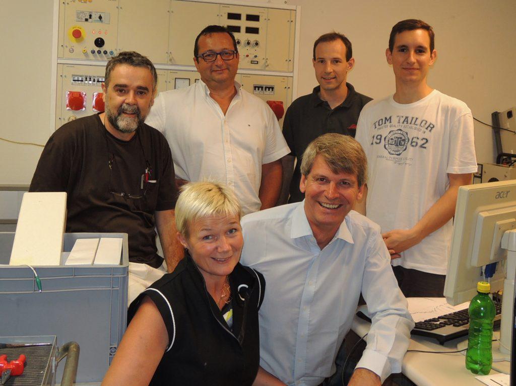 Professor Johann Laimer, Mr. Ferdinand Stempfer, SBI, Mr. Roman Kettler, Mr. Roman Koller, Grete Sønsteby, N2 Applied and Rune Ingels, N2 Applied.