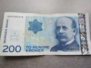 Birkeland - the man on our 200 kroner note