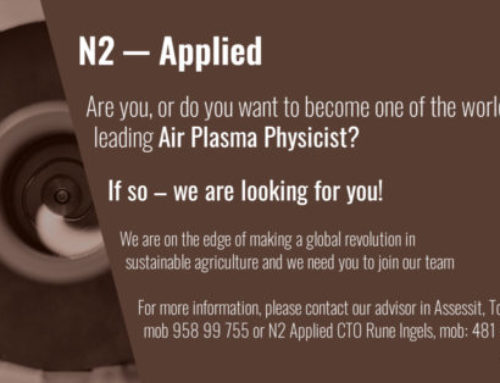 Are you, or do you want to become one of the worlds leading Air Plasma Physicist?